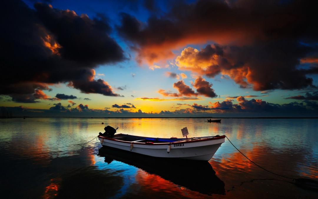 Risalire sulla barca rovesciata