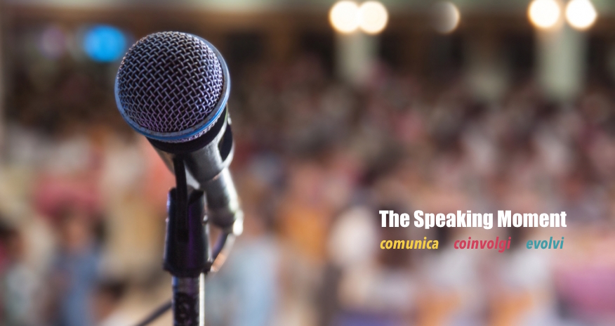 "21 e 22 settembre 2019  – The Speaking Moment ""Start!"""