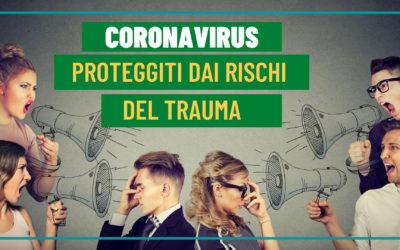 La Resilienza come risposta al Coronavirus